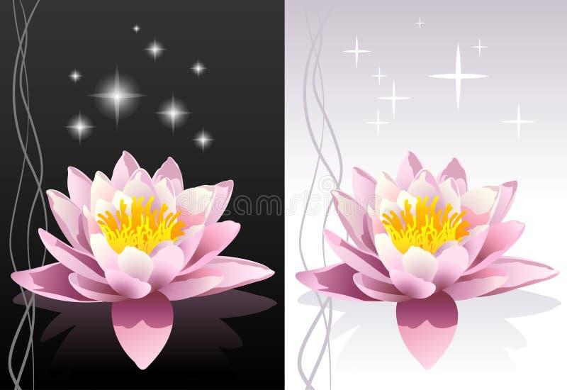 Illustrazione di zen del fiore di loto royalty illustrazione gratis