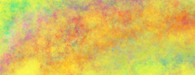 Illustrazione dipinta astratta del fondo con struttura nuvolosa nel modello macchiato di oro porpora rosso arancio blu giallo e d royalty illustrazione gratis