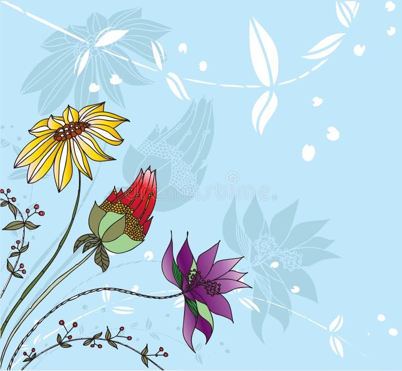 Illustrazione floreale illustrazione vettoriale