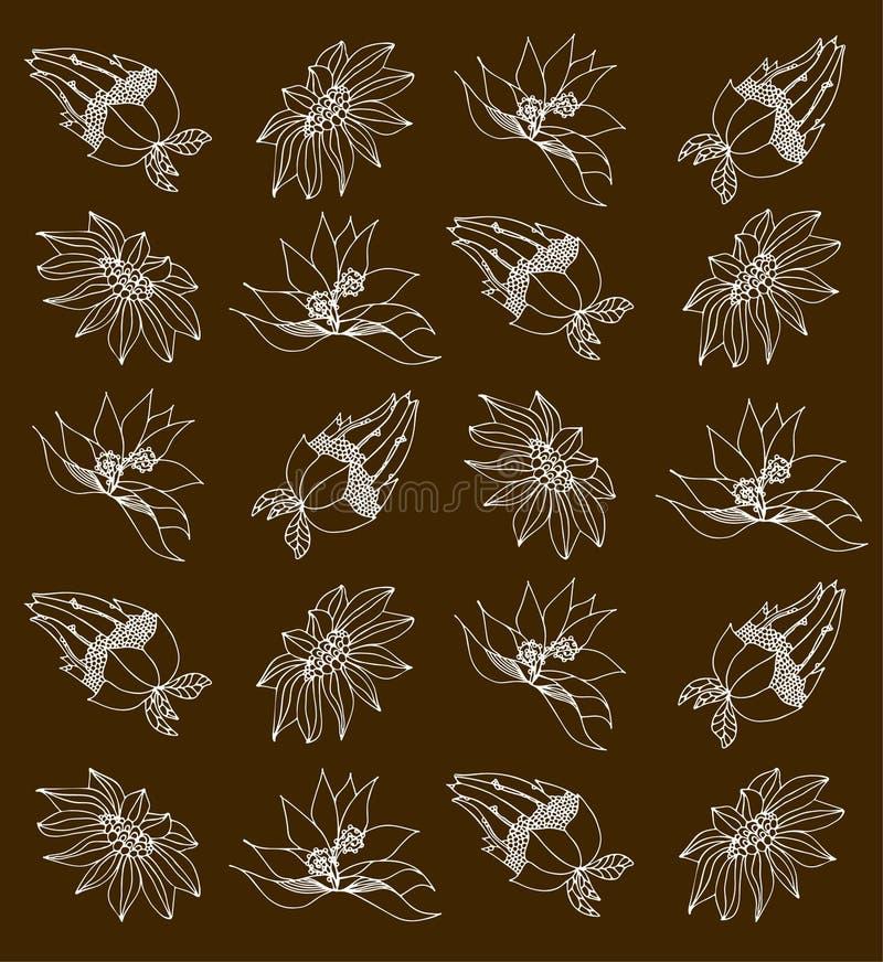 Illustrazione floreale illustrazione di stock