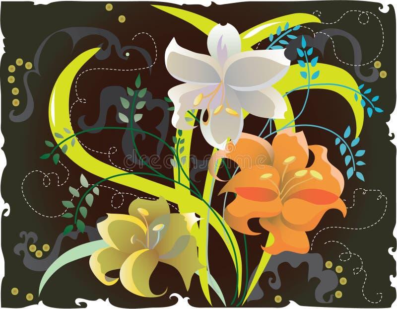 Download Illustrazione floreale illustrazione vettoriale. Illustrazione di autunno - 3138385