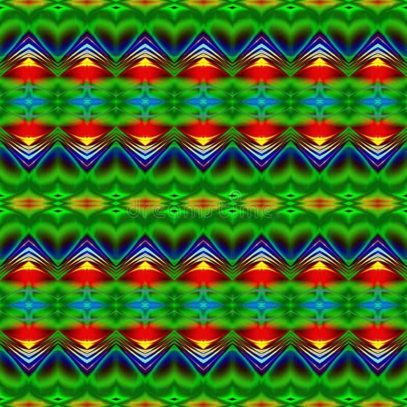 Illustrazione generata da computer con patt caleidoscopico astratto royalty illustrazione gratis