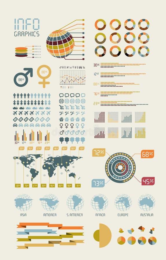 Illustrazione infographic del particolare. royalty illustrazione gratis