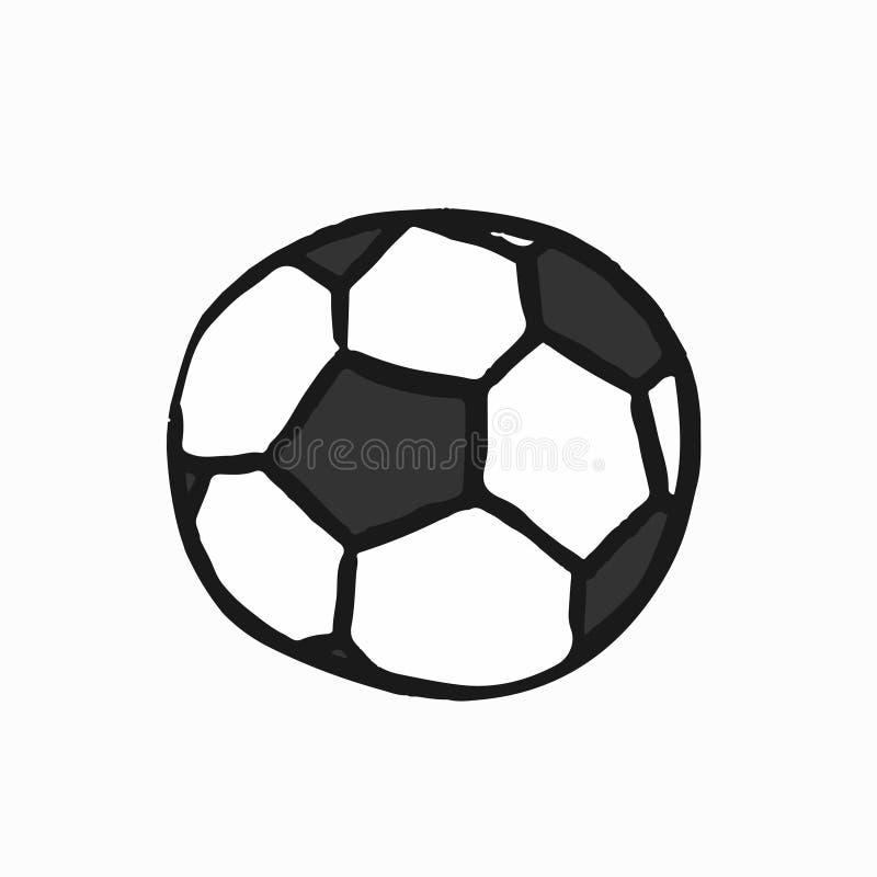 Illustrazione inglese del gioco della lega di football americano illustrazione di stock