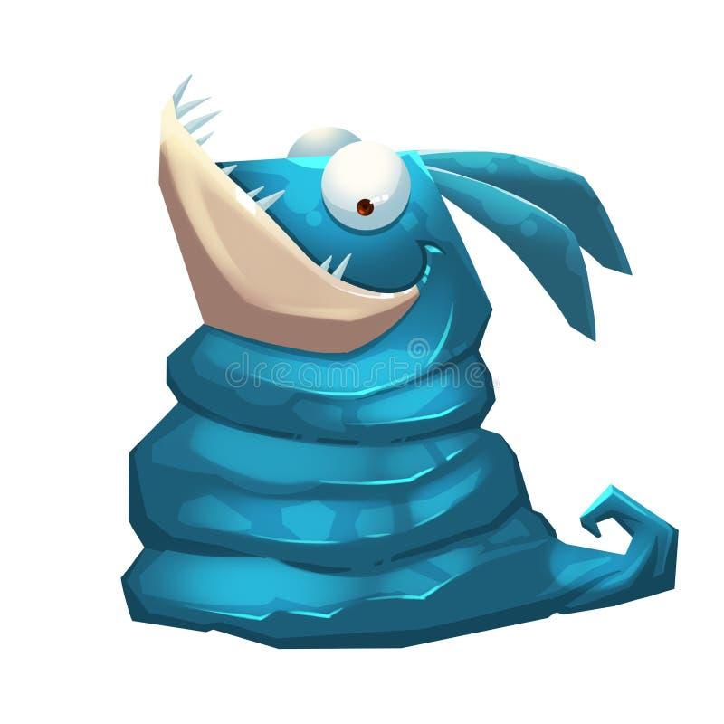 Illustrazione isolata: Forest Monster Nessun mostro di nome royalty illustrazione gratis