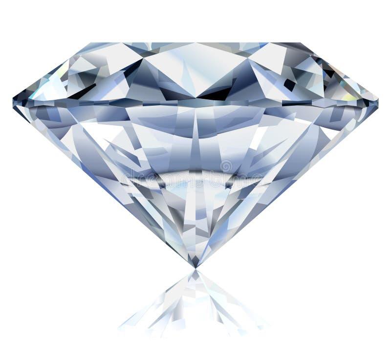 Illustrazione luminosa del diamante immagini stock libere da diritti
