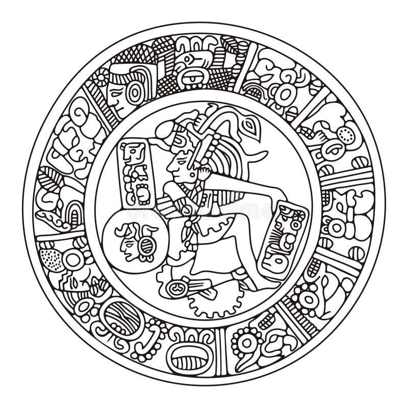 Illustrazione Mayan