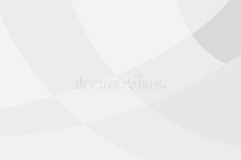 Illustrazione moderna astratta di vettore di progettazione del fondo di tecnologia bianca e grigia di colore royalty illustrazione gratis