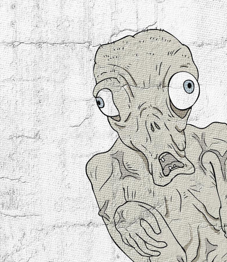 Illustrazione mutante illustrazione di stock