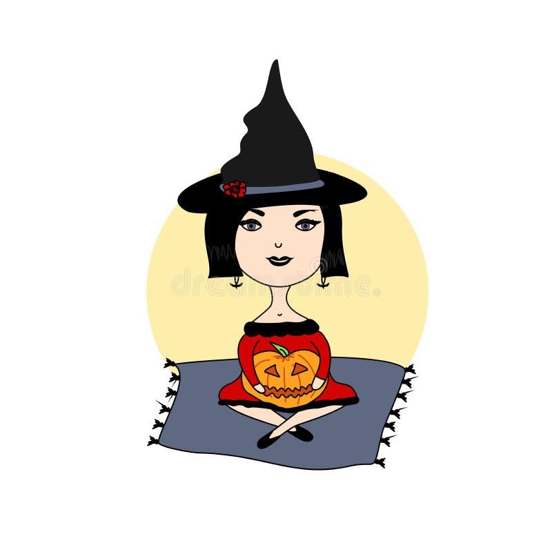 Illustrazione per Halloween immagine stock