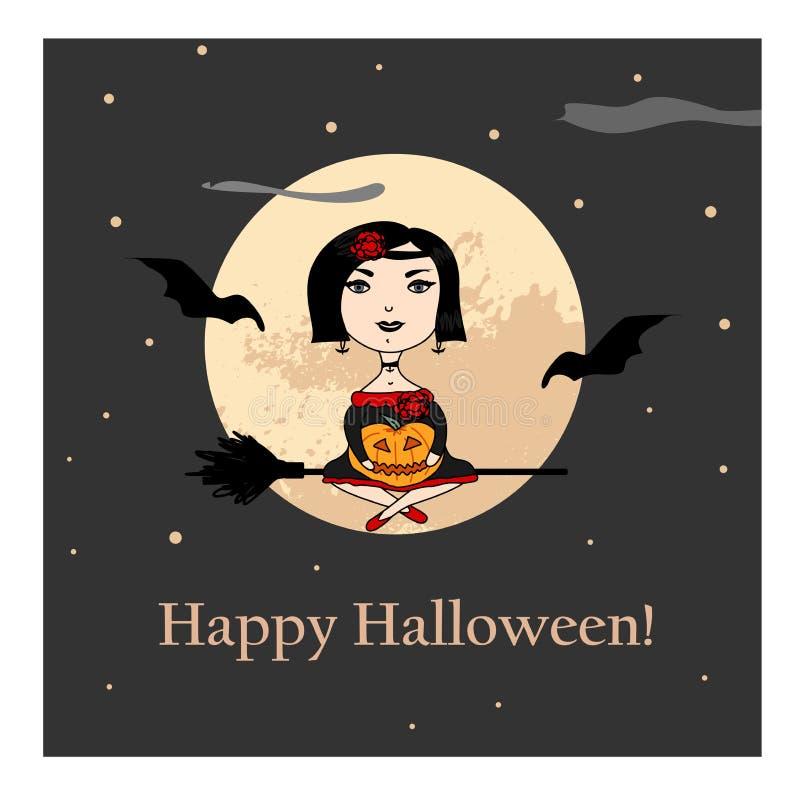 Illustrazione per Halloween fotografia stock