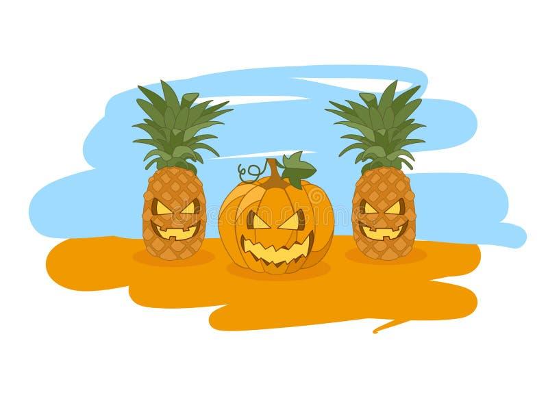 Illustrazione per Halloween immagine stock libera da diritti