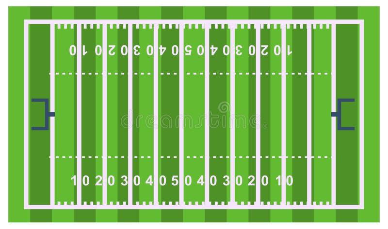 Illustrazione piana di vettore di sport di progettazione del gioco di vittoria del risultato del gioco della concorrenza del trof illustrazione di stock