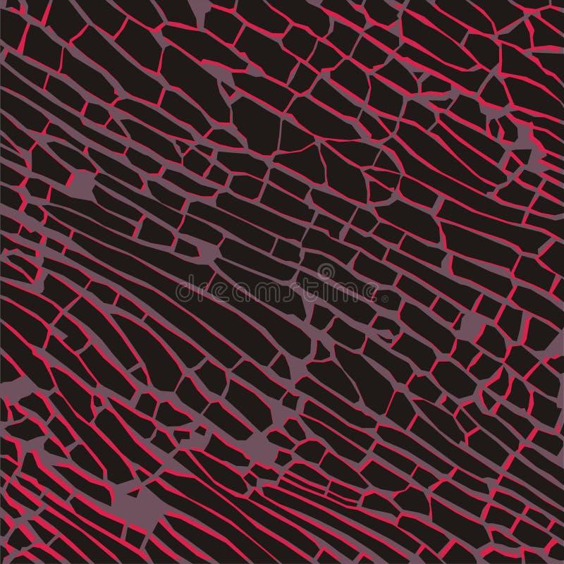 Illustrazione scura artistica di vettore del fondo dei mattoni illustrazione vettoriale