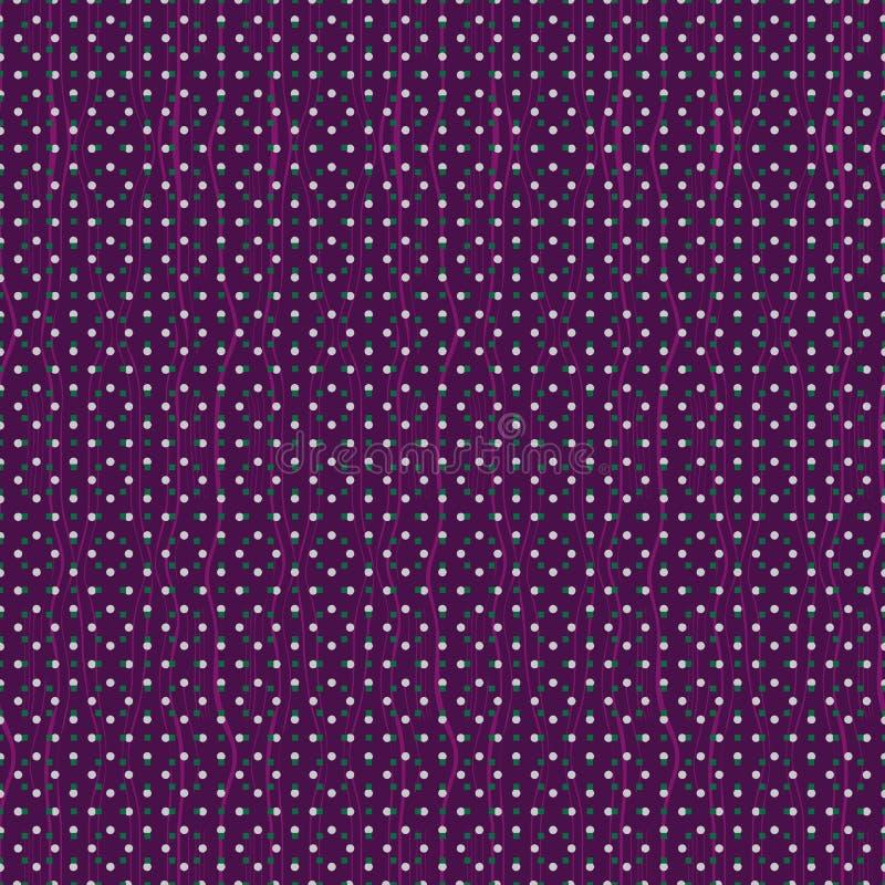 Illustrazione senza cuciture astratta del modello delle mattonelle rettangolari fotografia stock libera da diritti