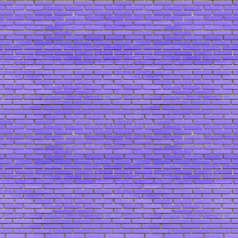 Illustrazione senza cuciture blu di struttura 3d della parete di mattoni illustrazione di stock