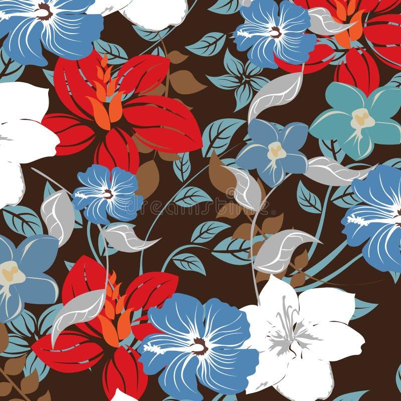 Download Illustrazione Senza Cuciture Del Fiore Della Primavera Illustrazione Vettoriale - Illustrazione di foglio, eleganza: 56876449
