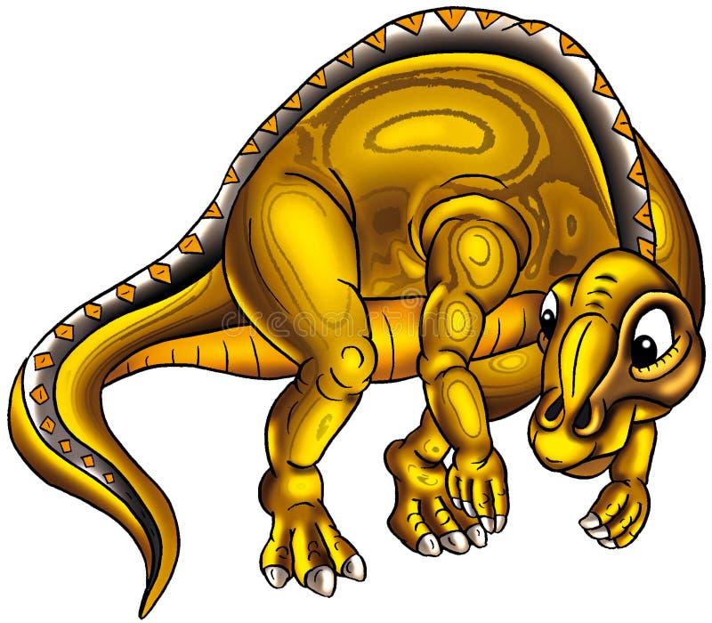 Illustrazione sveglia del dinosauro royalty illustrazione gratis