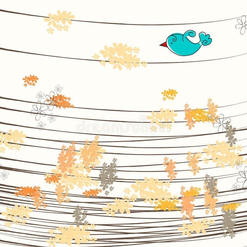Illustrazione sveglia di autunno royalty illustrazione gratis