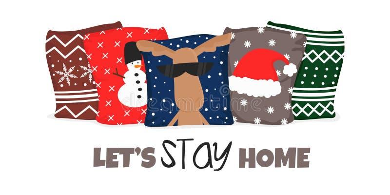 Illustrazione vettoriale di Winter Hygge Cozy Lifestyle illustrazione vettoriale