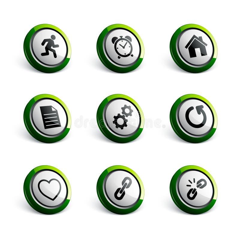 Illustrazioni dell'icona illustrazione di stock