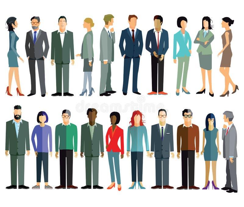 Illustrazioni della gente royalty illustrazione gratis