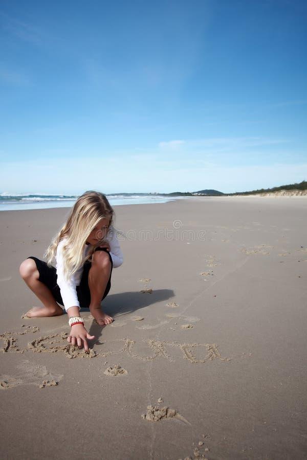 Illustrazioni della spiaggia immagini stock libere da diritti