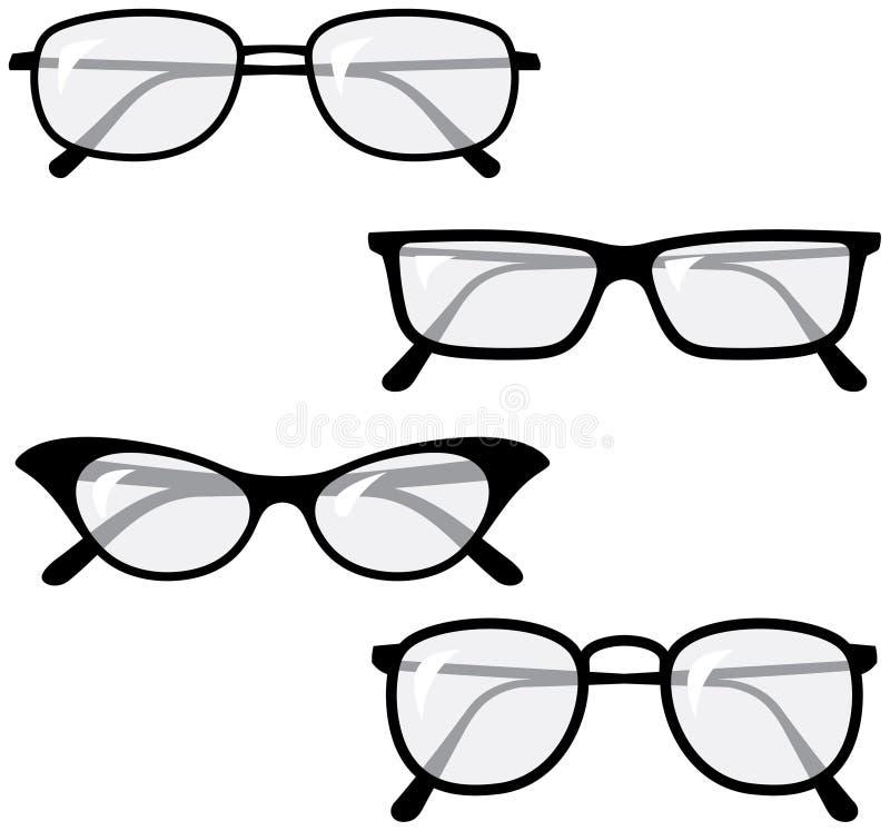 Illustrazioni di vettore del â degli occhiali illustrazione vettoriale
