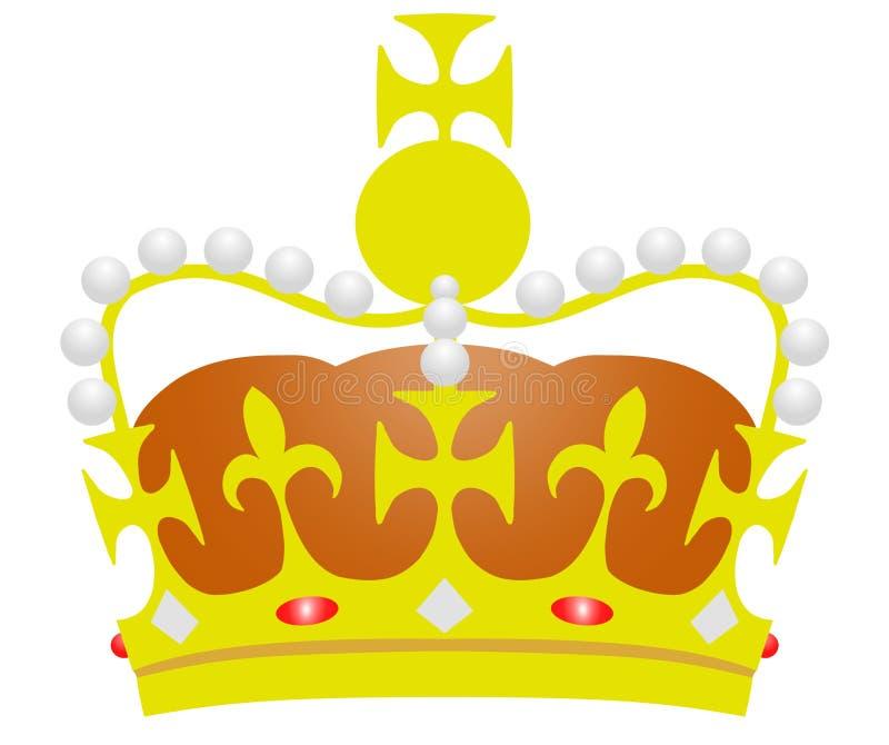 Download Illustrerad krona stock illustrationer. Illustration av diagram - 989313