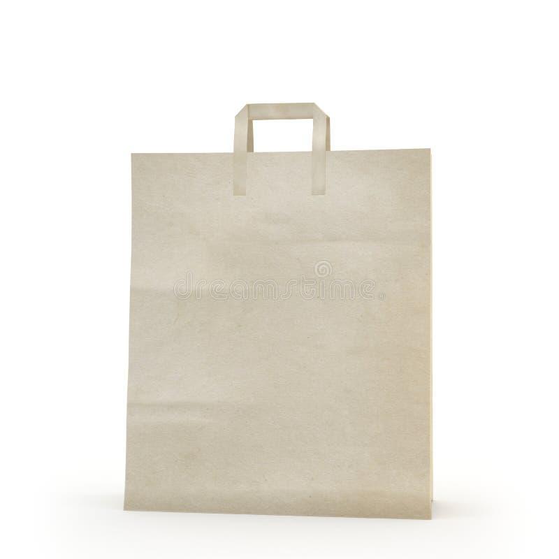 Illustrez d'un sac de papier photos stock