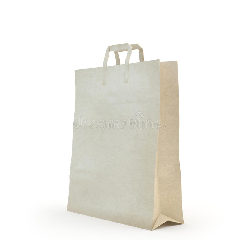 Illustrez d'un sac de papier photo libre de droits