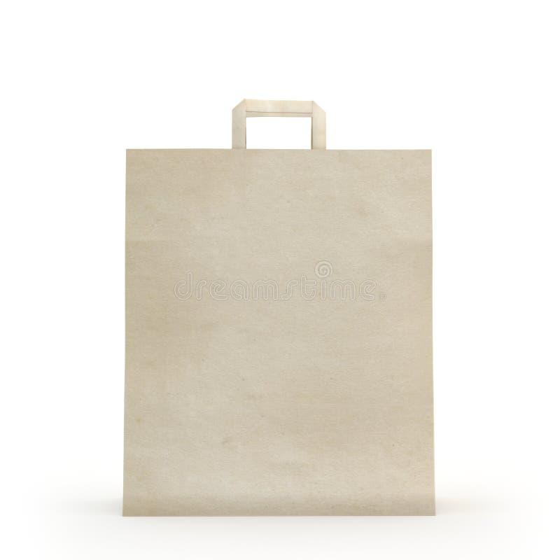 Illustrez d'un sac de papier photographie stock