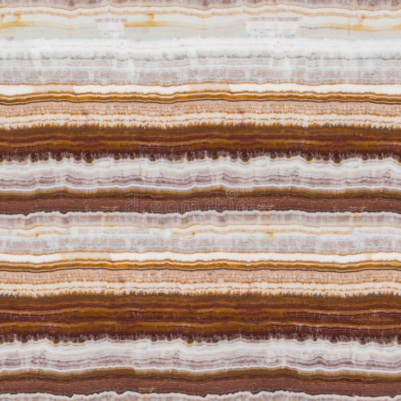 Ilość onyksu kamienia tekstura z pęknięciami Bezszwowy kwadratowy tło, dachówkowy przygotowywający fotografia stock