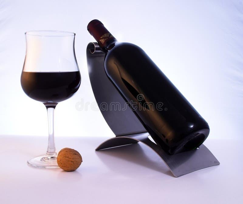 ilości czerwonego wina obraz stock