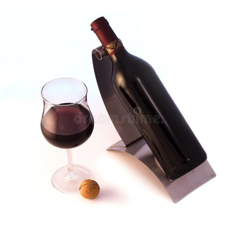 ilości czerwonego wina fotografia stock