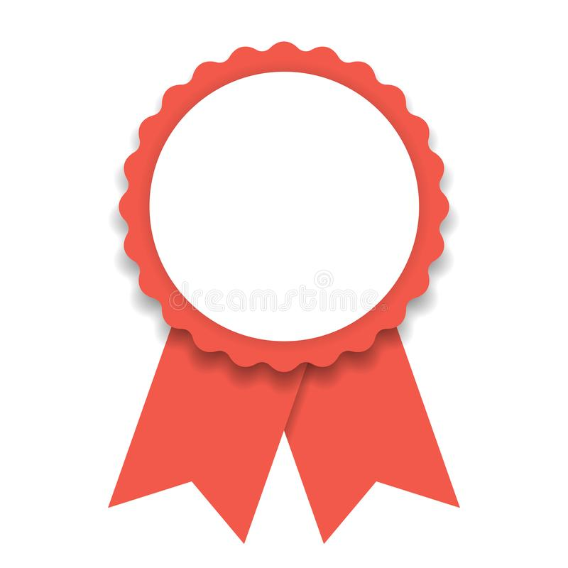 Ilości gwaranci znaka ikona Premii ilości symbol Klasyczna płaska ikona ilustracji