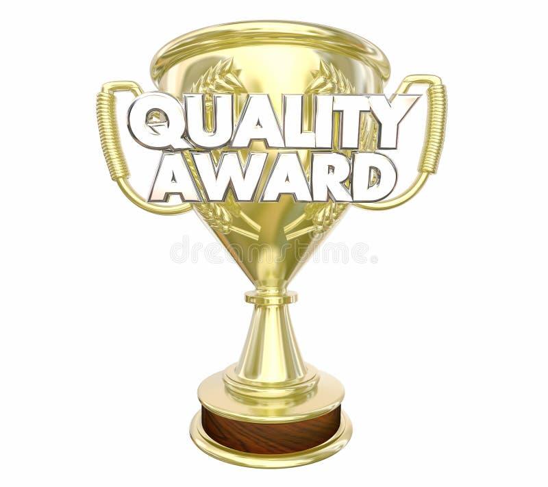 Ilości nagrody Best trofeum wierzchołki Polecający słowa ilustracji