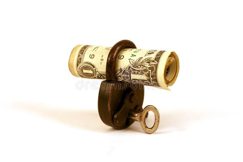 ILocked Geld? - Serie Lizenzfreie Stockbilder