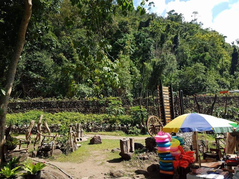 Ilocos Sur, station de vacances de Bago images libres de droits
