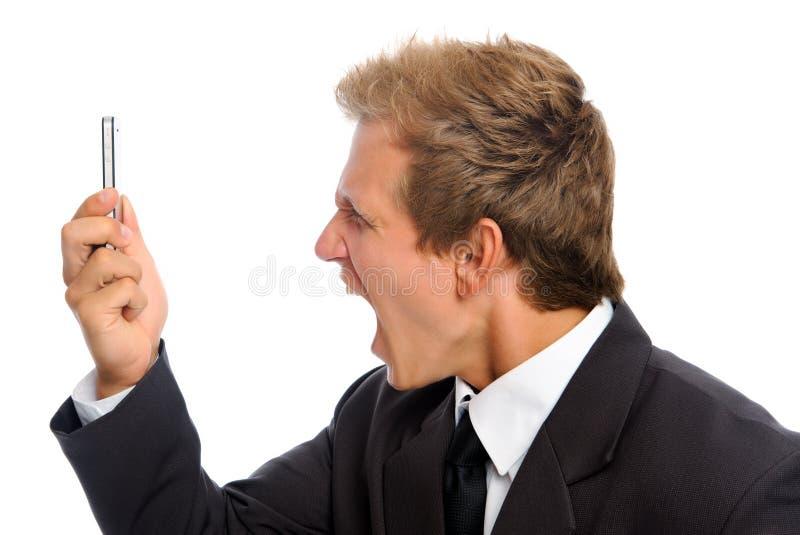 ilsken affärsman fotografering för bildbyråer