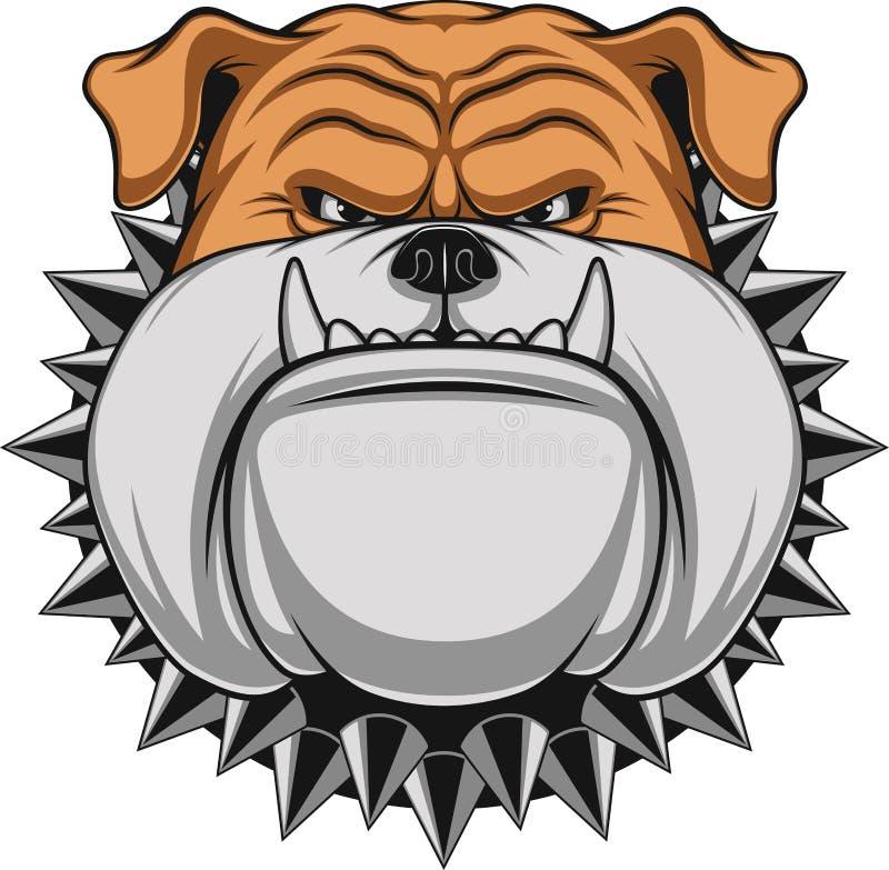 Ilsken hund vektor illustrationer