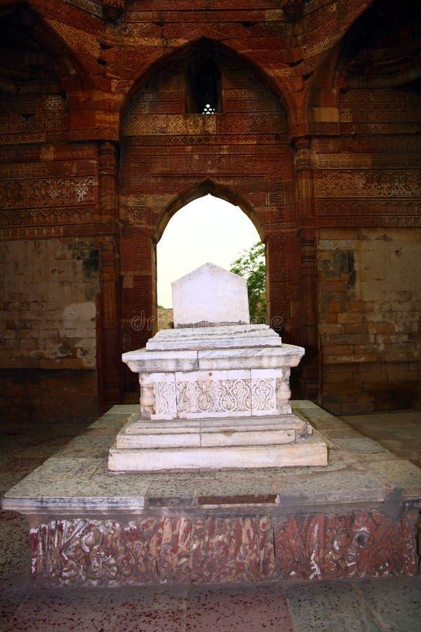 Iltumishs Tomb at Qutub Minar, Delhi royalty free stock photography