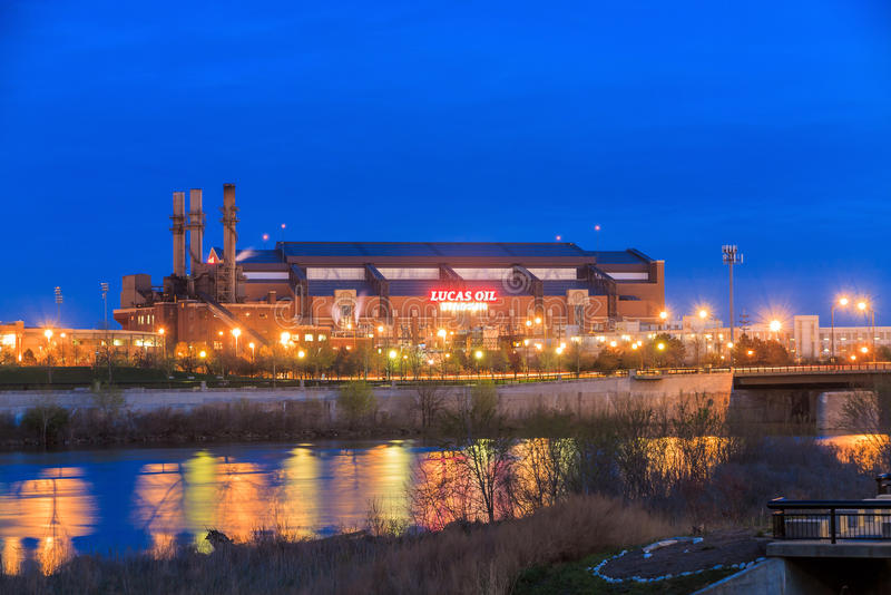 ILucas-Öl-Stadion stockfoto