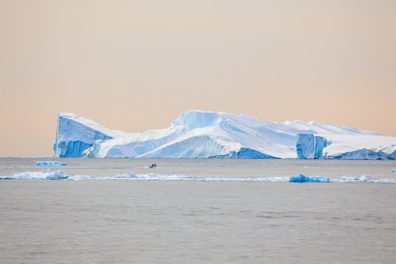 Ilulissat fjord in Greenland. Beautiful Ilulissat fjord in Greenland stock images