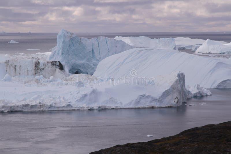 Ilulissat Icefjord greenland fotografia de stock royalty free