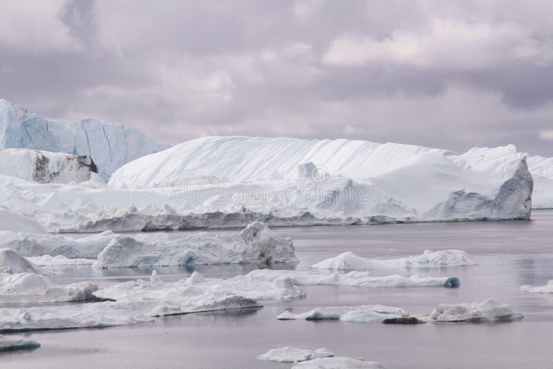 Ilulissat Icefjord Groenland stock foto