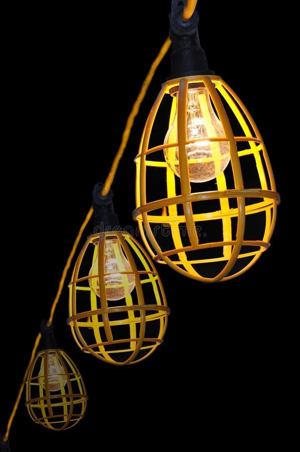 Iluminação da construção imagens de stock royalty free