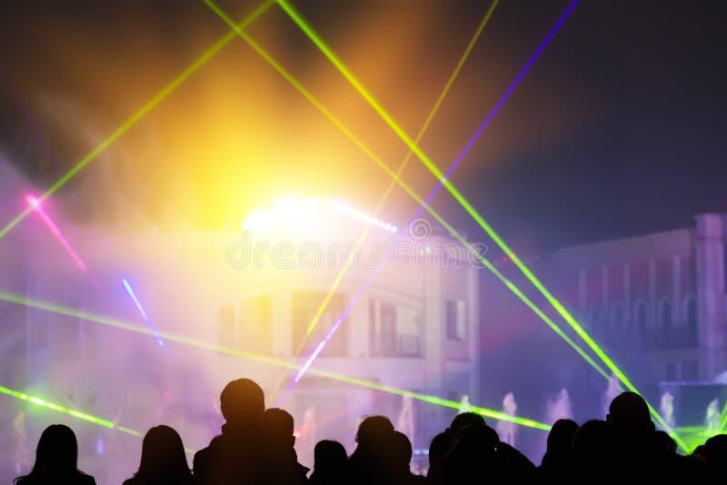 Iluminação da fase fotografia de stock royalty free