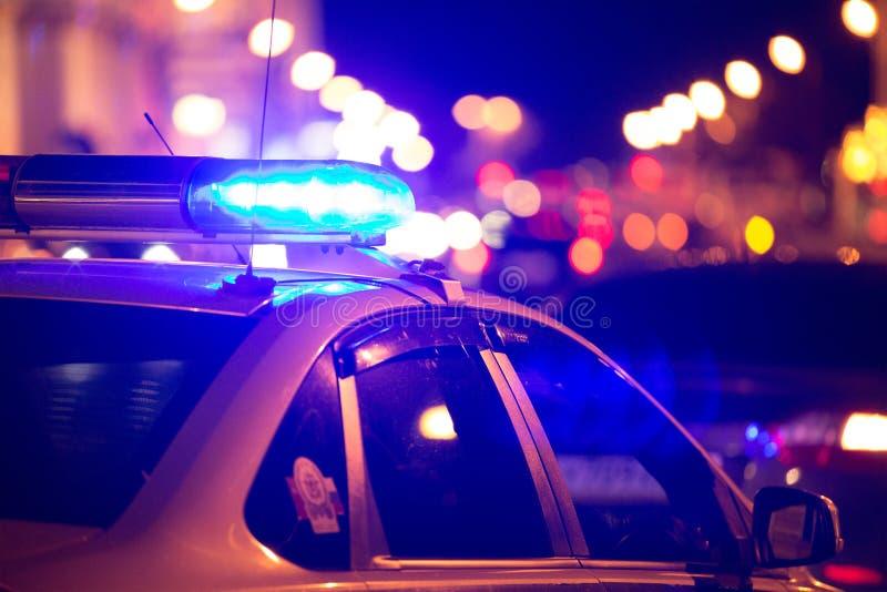 Iluminação do veículo da emergência imagem de stock