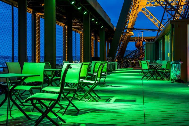 Iluminação futurista no lugar futurista fotos de stock royalty free